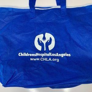Children's Hospital Los Angeles VTG Hand Logo Tote